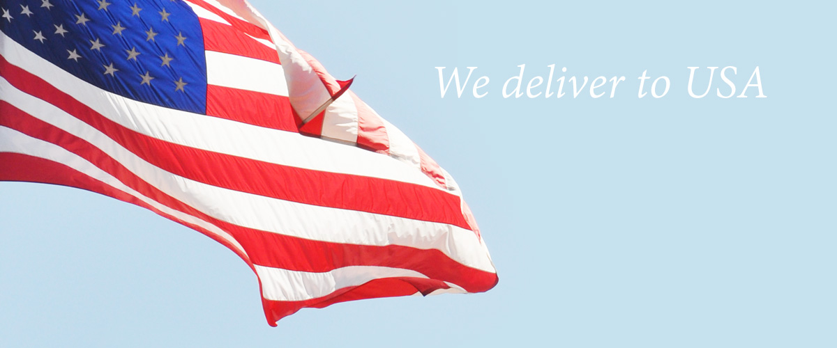 We deliver to USA!